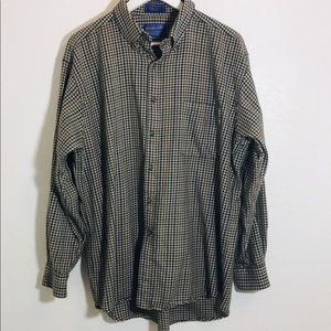 Pendleton 100 wool button down shirt